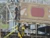 Palco in costruzione