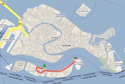 giudecca island venice map - photo#10